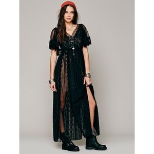 ISO Free People Witchy Woman Maxi Dress